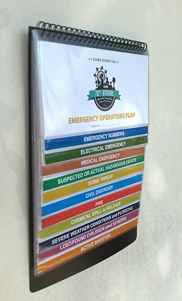 emergency procedures flip charts  send your content  we do