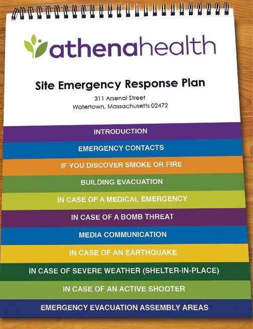 Emergency Procedures Flip Charts Send Your Content We Do